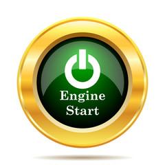 Engine start icon