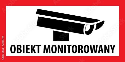 Zdjęcia na płótnie, fototapety, obrazy : OBIEKT MONITOROWANY, POMIESZCZENIE MONITOROWANE