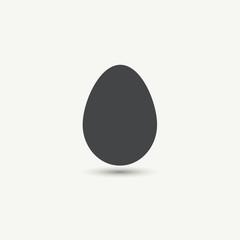 Chicken egg icon.