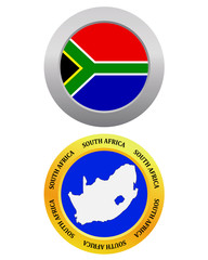 button as a symbol map SOUTH AFRICA