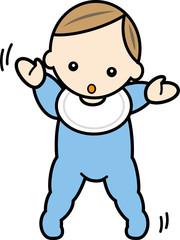 赤ちゃん・ヨチヨチ歩き