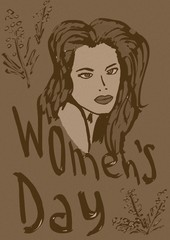 Women's day vintage