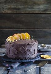 Extra chocolate cake