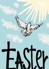 Easter dove