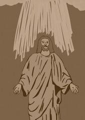 Religious Easter vintage