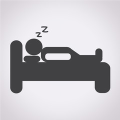 Sleep Icon , bed icon, hotel icon
