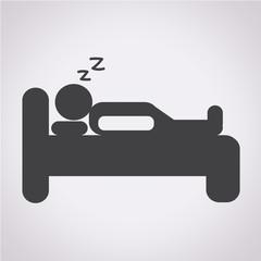 Sleep Icon , bed icon, hotel icon