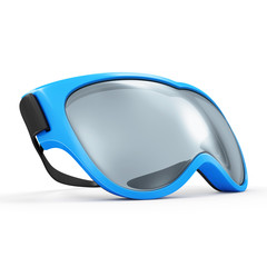Winter Sport Glasses for Skiing isolated on white background