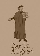 Dante Alighieri vintage