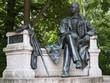 Leinwandbild Motiv Neuruppin-Fontane-Denkmal