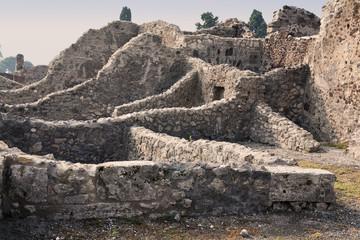 Ruinas de Pompeya. Italia