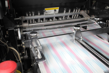 Process printing in the printing house