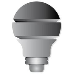 light bulb layer diagram