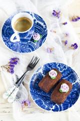 Chocolate cake Potato