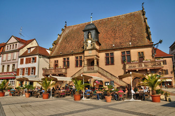 France, picturesque old city of Molsheim