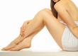 canvas print picture - Beautiful female body