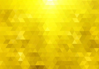 abstract bacground from golden triangles