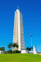 Jose Marti Memorial located on main street of Havana, Cuba