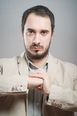 Portrait of successful man