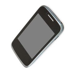 qualitative photo of the mobile phone. isolated