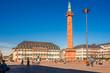 Leinwanddruck Bild - Luisenplatz, Darmstadt