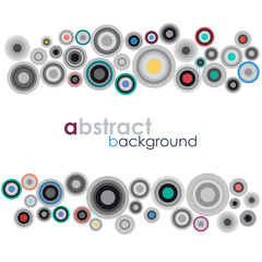 Vector abstract vintage background