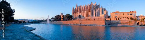 Foto op Canvas Bedehuis Catedral de Palma de Mallorca