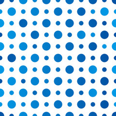 Seamless polka dot pattern for Your design 8