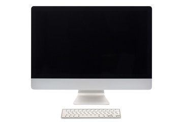 Computer screen isolated