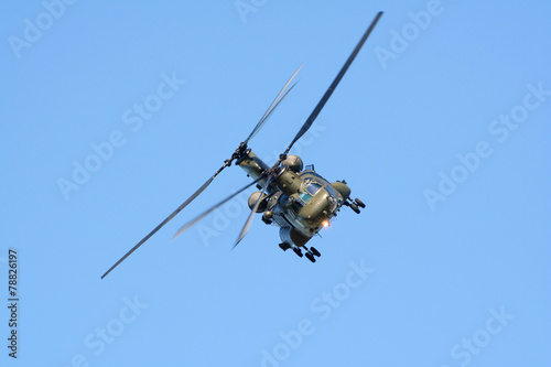 Military helicopter - 78826197