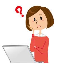 女性 パソコン 困る