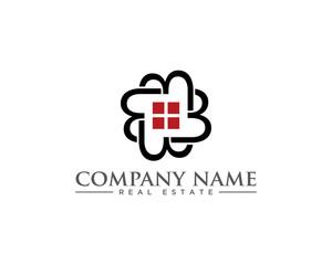 Abstract B Real Estate Logo Icon 1