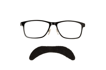 Glasses and Moustache