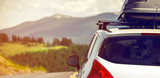 car with a roof rack - 78827974