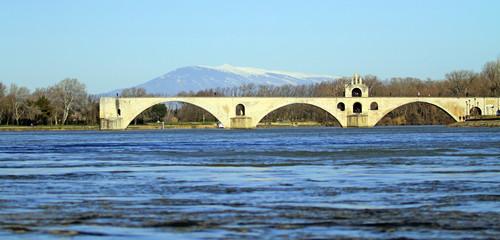Rhône à Avignon