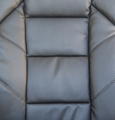 Black upholstery leather