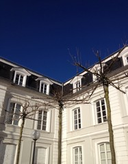 Gebäudefront barock