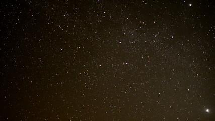Time Lapse of Stars in the Desert Sky