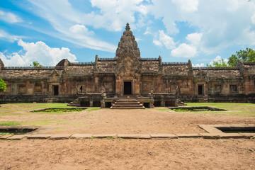 Phanom Rung Historical Park, sand stone castle in Buriram, Thail