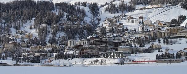 panorama di St. Moritz