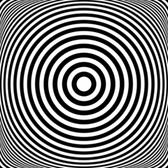 Concentric rings. Circles texture. Abstract illustration.