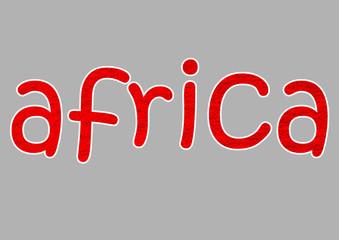 afrika yazısı
