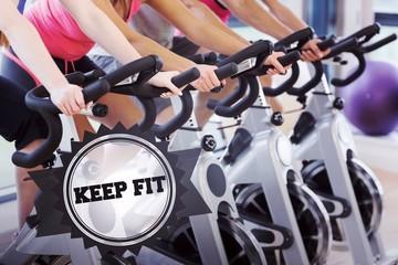 Keep fit against badge