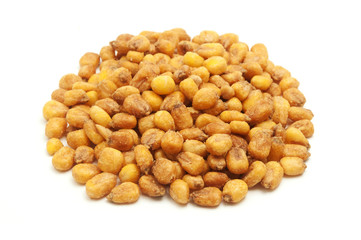 Roasted salted corn nuts