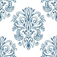 Hand-drawn watercolor pattern. Ethnic design. Seamless backgroun
