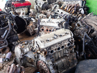 engines is secondhand and very old