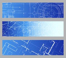 Blueprint Web Banners