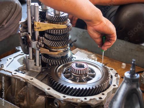 operator repaire gear box - 78839928