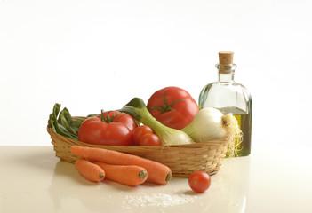 Ensalada de tomate (Detalle)