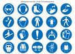 Gebotsschilder Set nach ASR 1.3 und ISO 7010 neu - 78841106